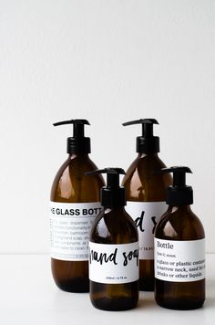 This glass bottle was designed to be used in the kitchen, bathroom, guest bathroom or even at the dinner table for condiments if you wish. Use it for your hand soap, shampoo or anything e… Skincare Packaging, Soap Packaging, Packaging Design, Shampoo Bottles, Diy Shampoo, Healthy Shampoo, Glass Dispenser, Shampoo Dispenser, Diy Makeup Brush Cleaner