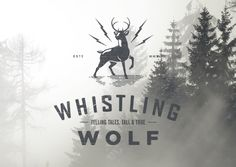 Whistling Wolf - Identity & Website by The Bearded , via Behance
