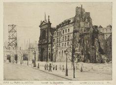 Place du Palais de Justice - Couvent des Barnabites - 1861
