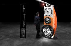 tire display | Maxxis Tire Display by Maya Bakalars at Coroflot.com
