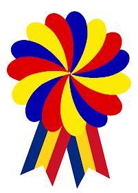 Ecusoane tricolore pentru diferite ocazii - Materiale didactice de 10(zece) Diy And Crafts, Crafts For Kids, Arts And Crafts, Worksheets For Kids, Activities For Kids, Good Morning Flowers Quotes, 1 Decembrie, Coloring Books, Badge