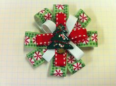 Christmas bow on Etsy