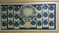 Earth day bulletin board!