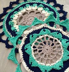 Handcrafted Vintage: Crochet Mandala
