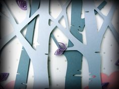 árboles de papel - by Qmono