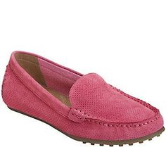 Aerosoles Slip-on Suede Moccasins - Over Drive