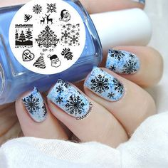 Christmas-XMAS-Nail-Art-Stamp-Stamping-Template-Image-Plate-BORN-PRETTY-BP01