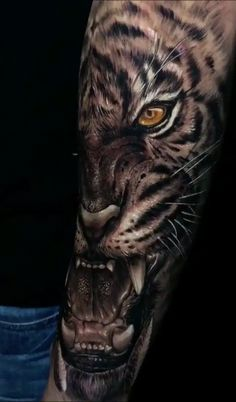 I really fancy the color styles, outlines, and linework. This is certainly a very good art work if you are looking for a Large Tattoos, Top Tattoos, Forearm Tattoos, Body Art Tattoos, Lion Tattoo Sleeves, Sleeve Tattoos, Tiger Eyes Tattoo, Samurai Tattoo, Tattoo Sleeve Designs