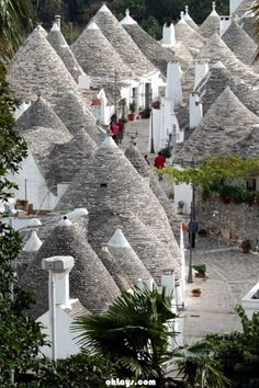 Not your typical construction.  Alberobello, ITALY.