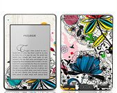 Amazon Kindle Touch Decal Skin - Wild Flowers