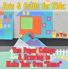 See our #LearningToolkit blog for how you can challenge your child to craft a house or cityscape from paper shapes.Click for more.