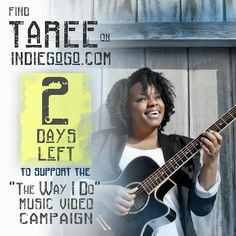 2-days away from delivering 'The Way I Do' to all of the contributors from the first 30-days of the #indiegogo campaign. You now have 48-hours before we end the first leg of campaigning. Thanks so much for sharing, donating and praying. Don't forget about all of the great incentives over on indiegogo.com. Digital download of the new single with every donation! Link In My Bio!!! http://igg.me/at/thewayido