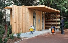 Public Toilets in the Tête d'Or Park - Jacky Suchail Architecte