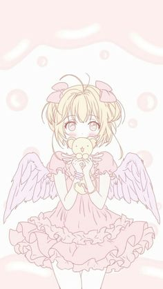 Serena♡Virgo Cardcaptor Sakura, Kero Sakura, Manga Anime, Anime Chibi, Anime Art, Whatsapp Wallpaper, Card Captor, Kawaii Doodles, Clear Card