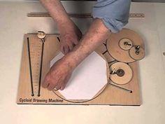 Amazing!!!! Cycloid Drawing Machine: Center Gear Setup - YouTube