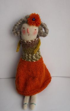 Melodie Stacey/Maidolls - Cathy - a knitted art doll