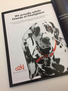 o2kls ad in the Annual Friends of Firefighters Dinner Program. We love supporting the great work that FoF does for the FDNY and their families. Friends of Firefighters Inc. Thank you Richard Eber Laurie Messina and Ronni Reider - http://ift.tt/1HQJd81