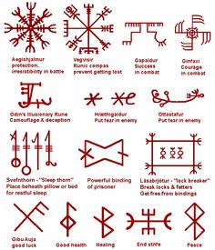 "Icelandic runes: to embroider the ""sleep thorn"" on pillows for restful sleep?"