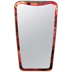 Cristal Arte mirror made in Italy, 1950.