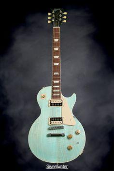 Gibson Les Paul Classic - Seafoam Green, 2014