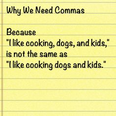 grammar funny on why we need commas