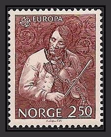 Targjei Augundsson (1801 – 1872) better known as Myllarguten (meaning the Millerboy), is arguably the most acknowledged Norwegian folk musician to this day, and by far the most legendary. In 1831 he met Ole Bull in Bergen and became his friend for life. Bull was on a short visit between tours, and was at the time looking for a personal and national expression.