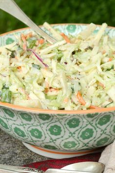 Coleslaw with Mustard and Apples is one of my all time favorite recipes for just about any meal. One thing that I love about this recipe is that it is simple and incredibly versatile. This is perfect from holiday meals to casual summer parties. Side Dish Recipes, New Recipes, Holiday Recipes, Salad Recipes, Cooking Recipes, Favorite Recipes, Holiday Meals, Recipies, Easter Recipes