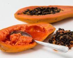 Semi della papaya - ricchi di antiossidanti, vitamina C e B, fibre, magnesio.  Utilissimi per prevenire malattie e infezioni ai reni, al fegato, per bruciare grassi e assorbire zuccheri.