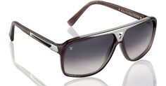 I LOVE the Silver & Grey Evidence sunglasses from Louis Vuitton...but not for $720.