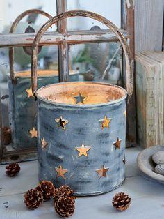 Rustic Star Hurricane a Tilda gift this Christmas