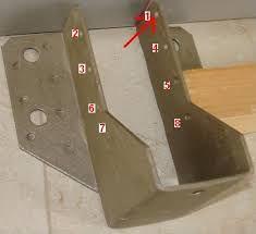 Resultado de imagen para fijacion de vigas de madera en viga de acero con…