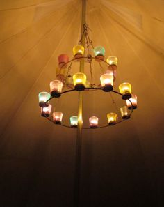 The same tea light chandelier I have in my bell tent :)