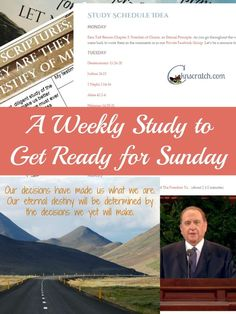 Love all these different study guides to get ready for Sunday- incredible!