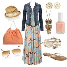 Maxi Dress- LOVE
