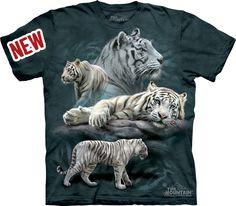 Description: White Tiger Collage Tee Sale Price: $16.89