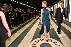 Alex Greenwald and actor Brie Larson attend the 2017 Vanity Fair Oscar Party hosted by Graydon Carter at Wallis Annenberg Center for the Performing...