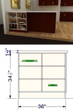 the fixa drill template can be used on both drawers and doors for