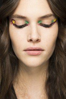 Fendi hair and make-up #aw16