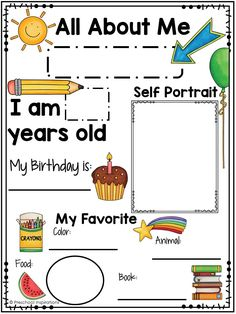 Printable All About Me Poster for a Preschool Theme - Preschool Inspirations - Printable All About Me Poster for a Preschool Theme Informations About Printable All About Me Poster - Preschool Learning Activities, Homeschool Kindergarten, Preschool Classroom, Preschool Worksheets, All About Me Activities For Preschoolers, Preschool Family Theme, Teaching Themes, Preschool Assessment Forms, Preschool Monthly Themes