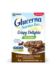 Glucerna Crispy Delights Nutrition Bars Chocolate Chip 4 Count https://probioticsforweightloss.co/glucerna-crispy-delights-nutrition-bars-chocolate-chip-4-count/