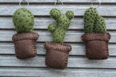 DIY: Cactus sleutelhanger Cactus Plants, Needlework, Diys, Blog, Embroidery, Dressmaking, Couture, Bricolage, Cacti