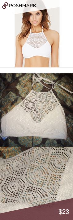 Forever 21 halter top bikini Brand new with tags .. .. Also can be worn as a top PINK Victoria's Secret Tops