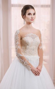 US$129.72-Beautiful Sleeveless Sleeve Tulle&Lace A Line Wedding Dress with Sleeves.  https://www.newadoringdress.com/sleeveless-sleeve-tulle&lace-dress-p712318.html.  Free Custom-made & Free Shipping at best wedding dresses, Lace wedding dress, modest wedding dress, strapless wedding dress, backless wedding dress, wedding dress with sleeves, mermaid wedding dress, plus size wedding dress. We have great 2016 fall Wedding Dresses on sale at #NewAdoringDress.com today!