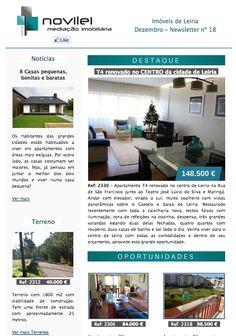 Newsletter nº 18 do dia 15 de Dezembro. Imóveis de Leiria. #newsletter #news #blog #novilei #portugal #imoveis #leiria #imobiliaria #realestate