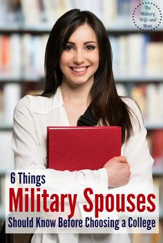 Read to find a college but don't know where to start? Here are a few awesome pieces of advice to find the perfect military spouse college. #spon