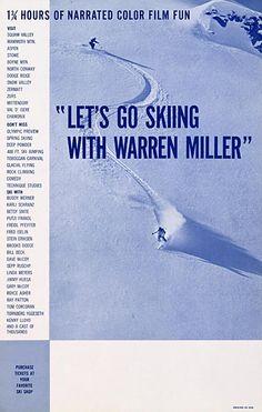 d88c69365 Since 1950, poster art for Warren Miller films has served as a timeline for  skiing