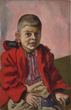 Alice Neel (US 1900-1984), Daniel Stern, oil/canvas, 1958. Xavier Hufkens Gallery, Brussels, Belgium.