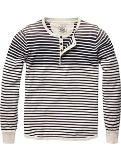 SCOTCH & SODA - Long-sleeved granddad pull