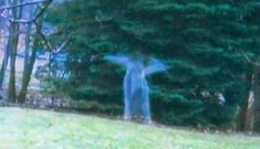 A man captured something strange on camera during a hunting trip in Michigan