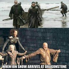 [Entertainment]Game Of Thrones Memes funny jon snow Arte Game Of Thrones, Game Of Thrones Meme, Got Memes, Funny Memes, Hilarious, Winter Is Here, Winter Is Coming, Movies Showing, Movies And Tv Shows